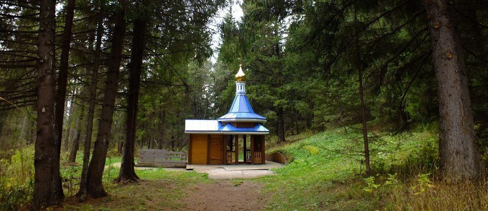 Святой источник в Кольцово