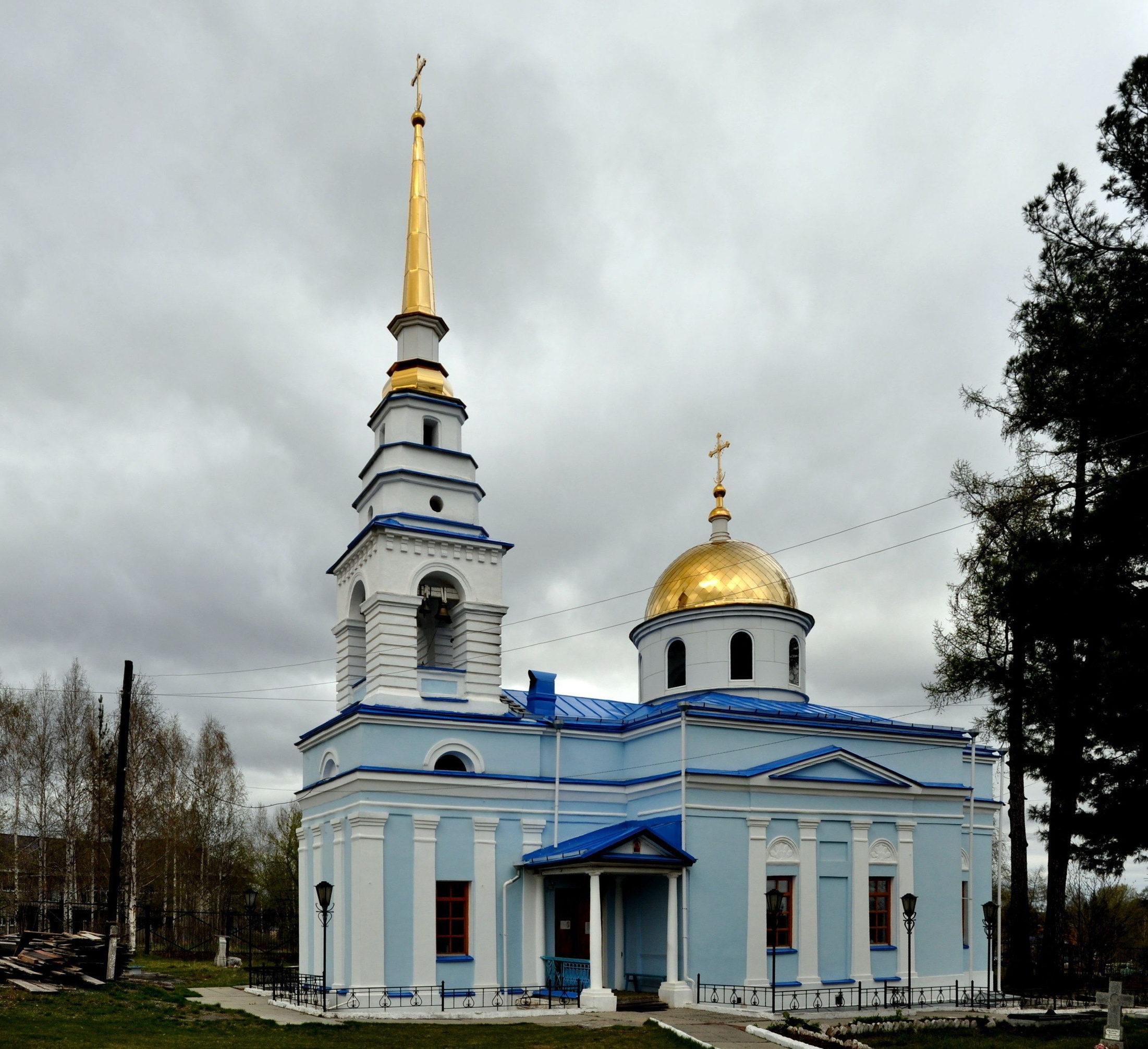Казанская церковь в Карпинске в наше время