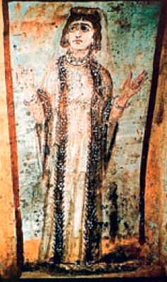 Один из самых ранних образов Богоматерь Оранта