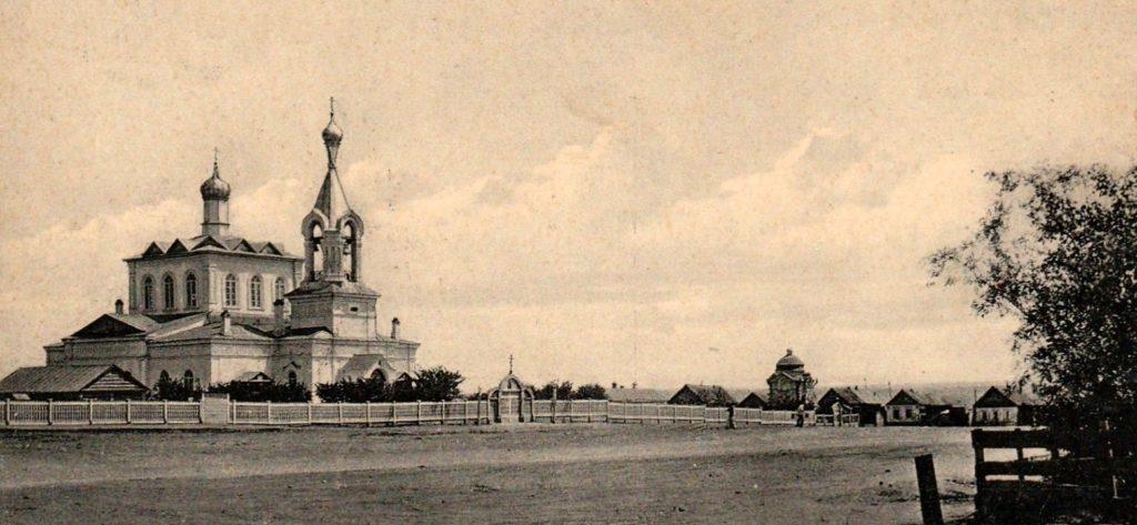 Никольская церковь (ныне собор) до революции