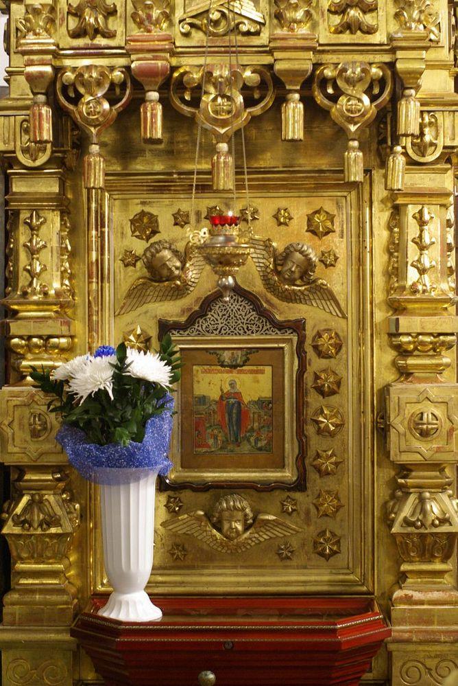 Явленая икона Параскевы Пятницы в Савино