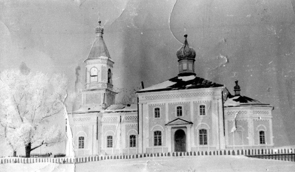 Храм во имя преподобного Серафима Саровского в Суерке до закрытия