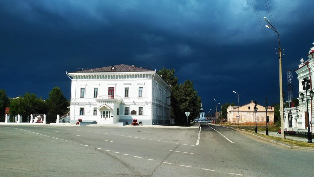 Дом губернатора в Тобольске