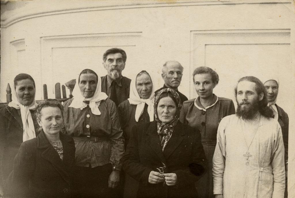 Отец Павел Чазов в 1950-е годы