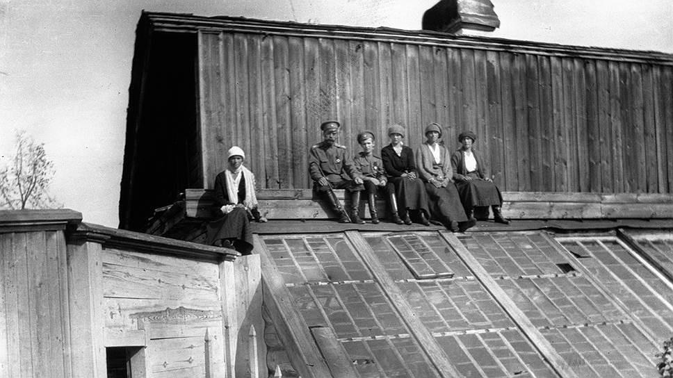 Тобольский снимок царской семьи. Один из последних