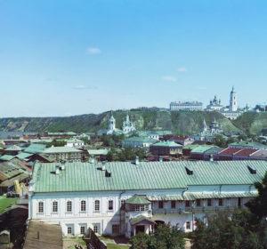 1912 год: вид с Подгорья на Тобольский кремль