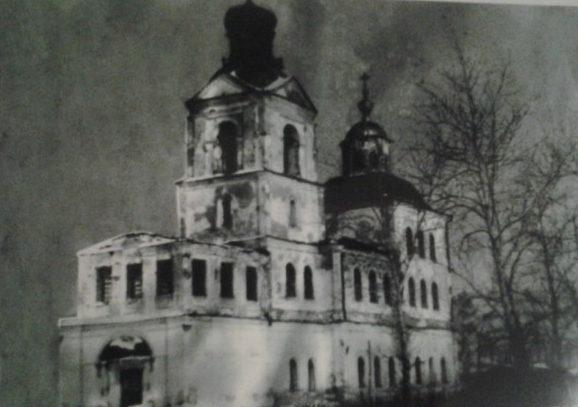 Христорождественская церковь в селе Калиновское в советские годы