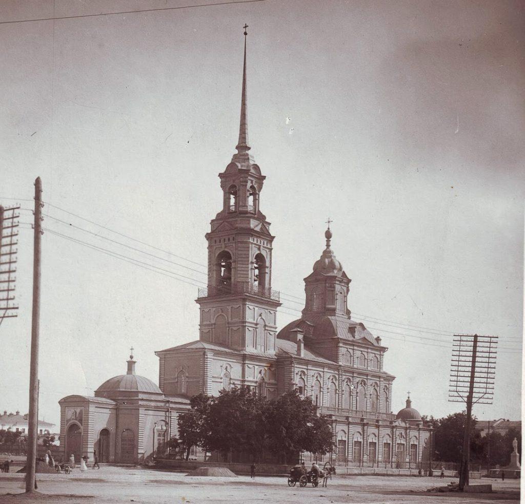 Богоявленский собор в Екатеринбурге