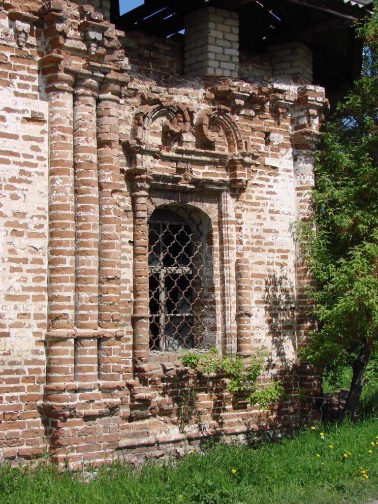 Руины храма Иоанна Предтечи в наши дни