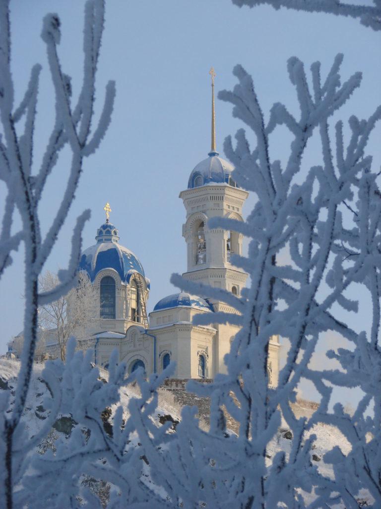 Храм Иоанна Предтечи зимой
