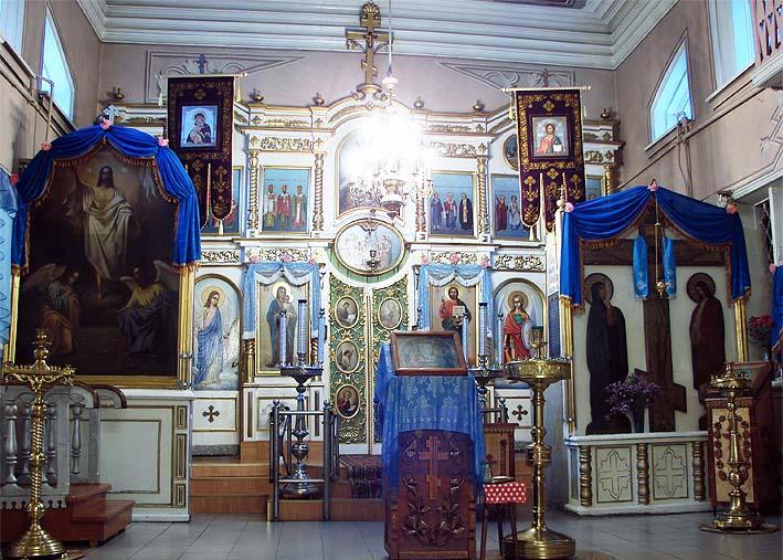 Иконостас Иннокентьевского храма