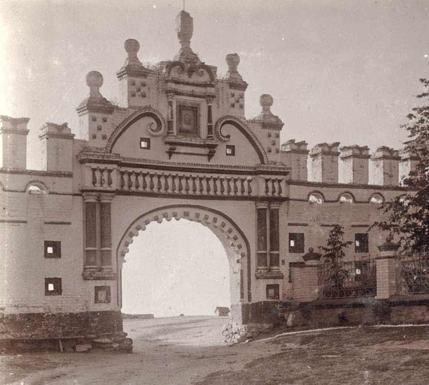 Главные кремлевские ворота в начале XX века