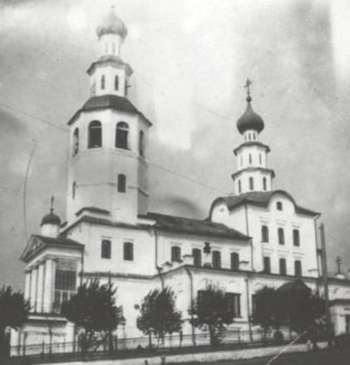 Свято-Троицкий собор в Кушве в советские годы