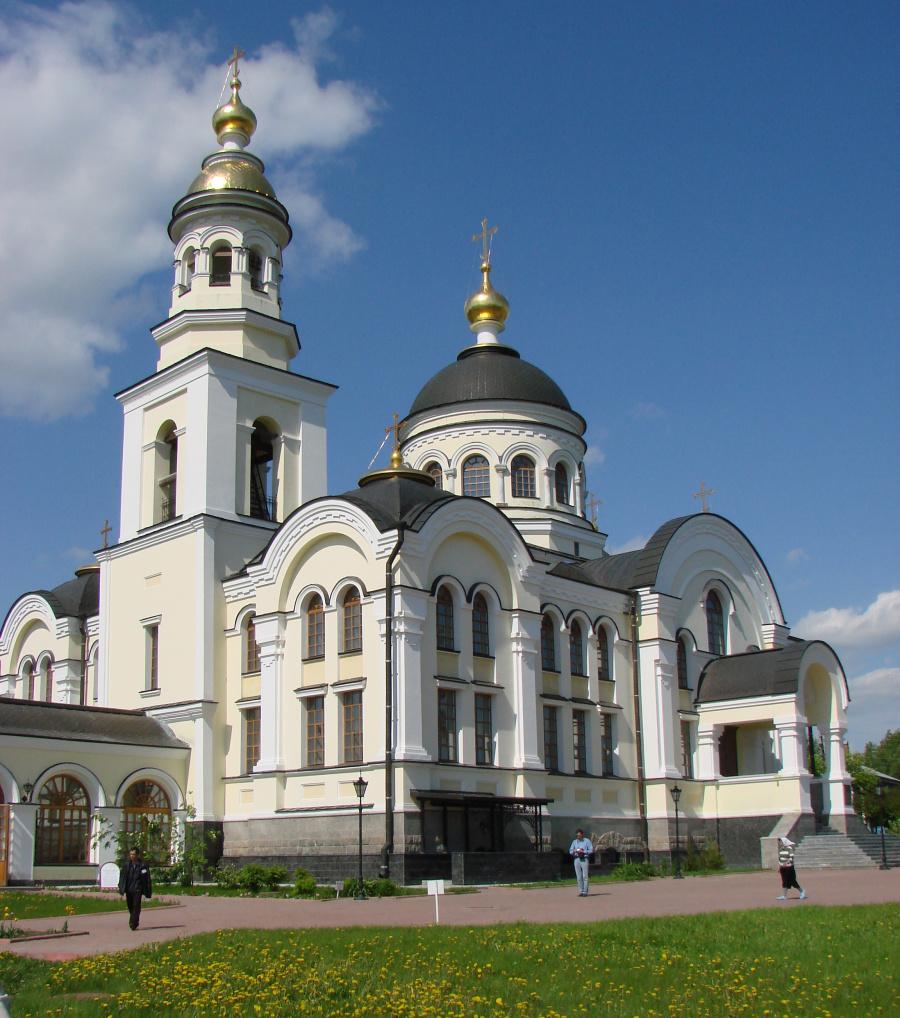 Храм Михаила Архангела в Меркушино в наши дни