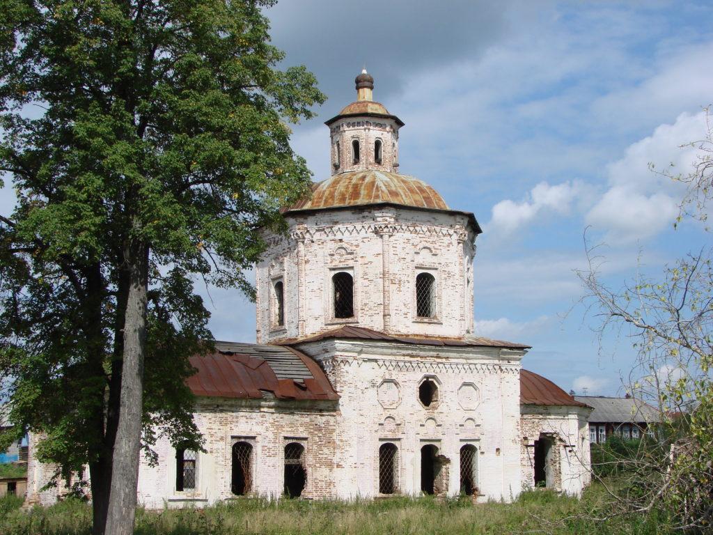 Старый Покровский храм, современный вид