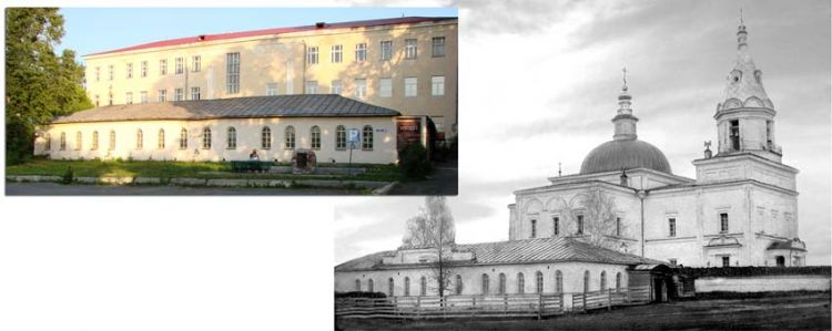 Богоявленский храм и церковно-приходская школа сто лет назад и сегодня