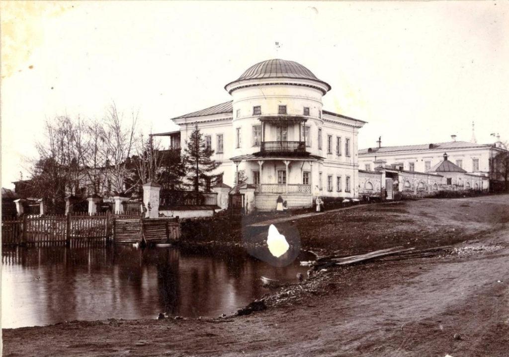 Господский дом в начале XX века