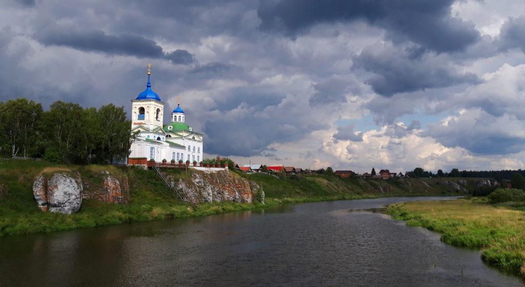 Храм Георгия Победоносца в селе Слобода