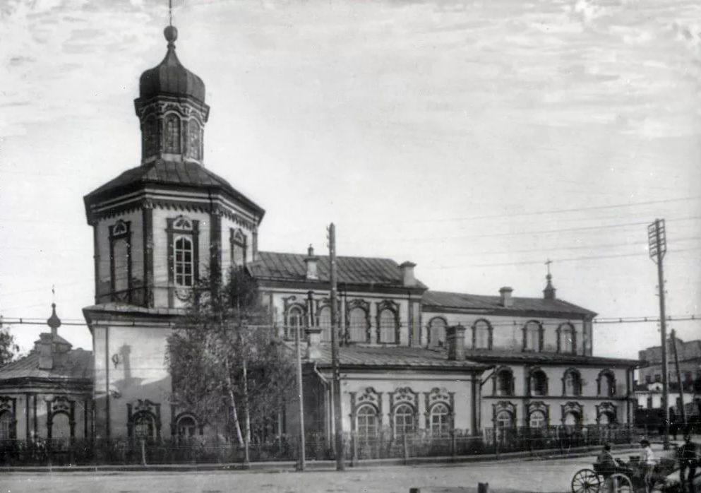Свято-Духовская церковь в Екатеринбурге. Фото начала XX века