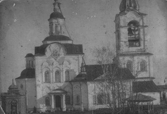 Вознесенская церковь Свято-Николаевского монастыря в Туринске