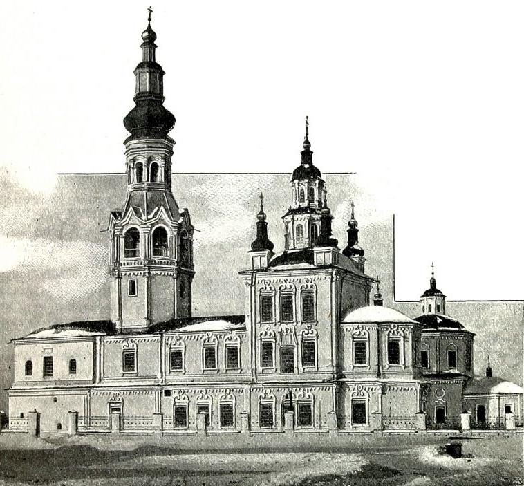 Храм Иоанна Предтечи в Верхотурье. Фото начала XX века