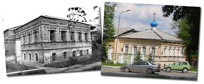 Храм Иоанна Кронштадского в Реже был освящен в 1997 году в здании бывшего купеческого особняка