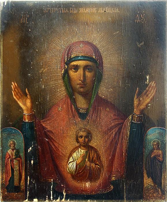 """Абалакский образ иконы Божией Матери """"Знамение"""""""
