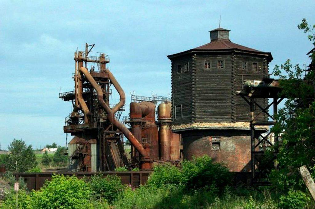 На бывшем Нейво-Алапаевском заводе