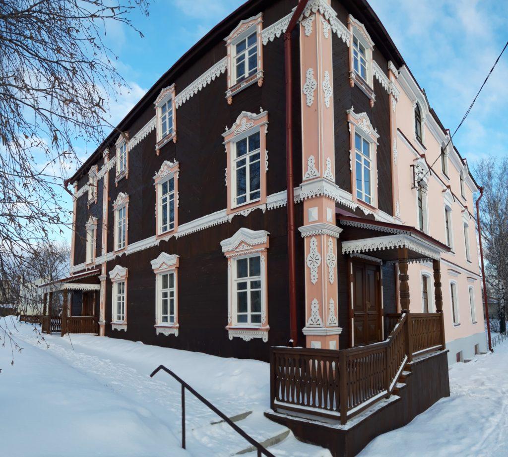 Дом Сафонова в Алапаевске после реконструкции в 2018 году