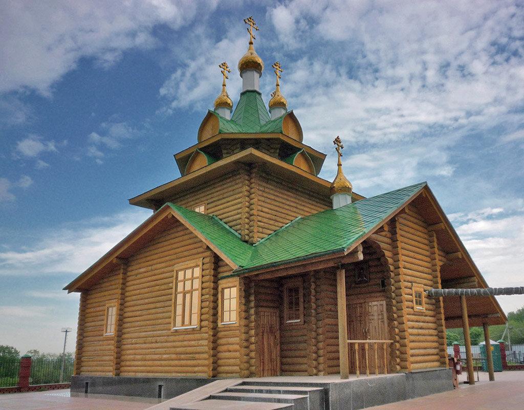 Храм во имя священномученика Аркадия Екатеринбургского
