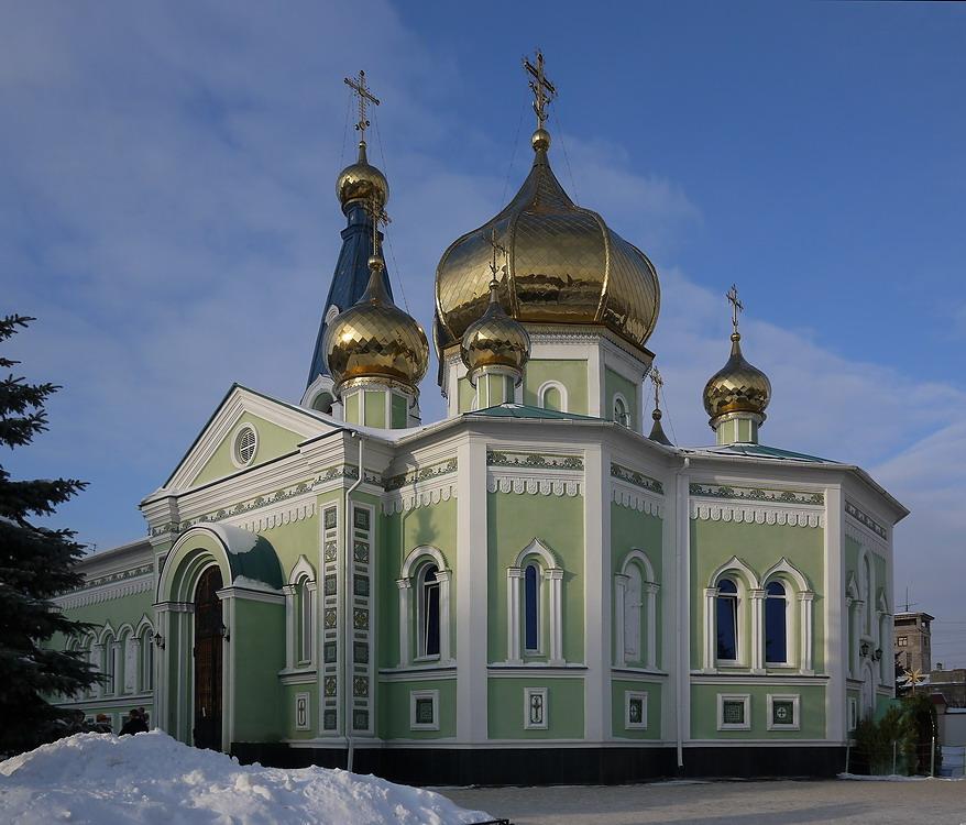 Свято-Симеоновский храм в Челябинске