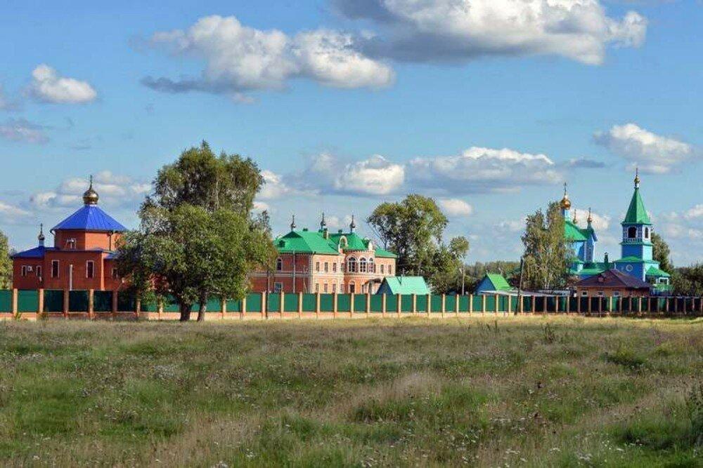 Чимеево: Свято-Казанский Чимеевский монастырь