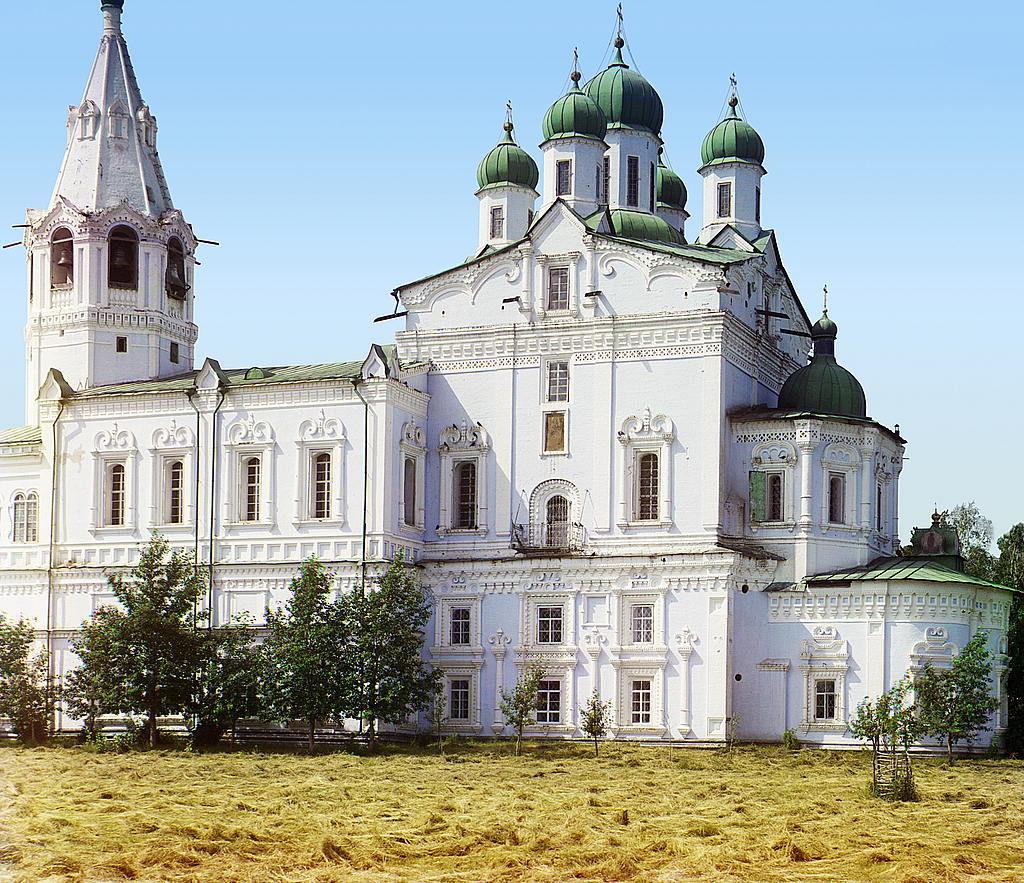 Успенский собор Далматовского монастыря в 1912 году