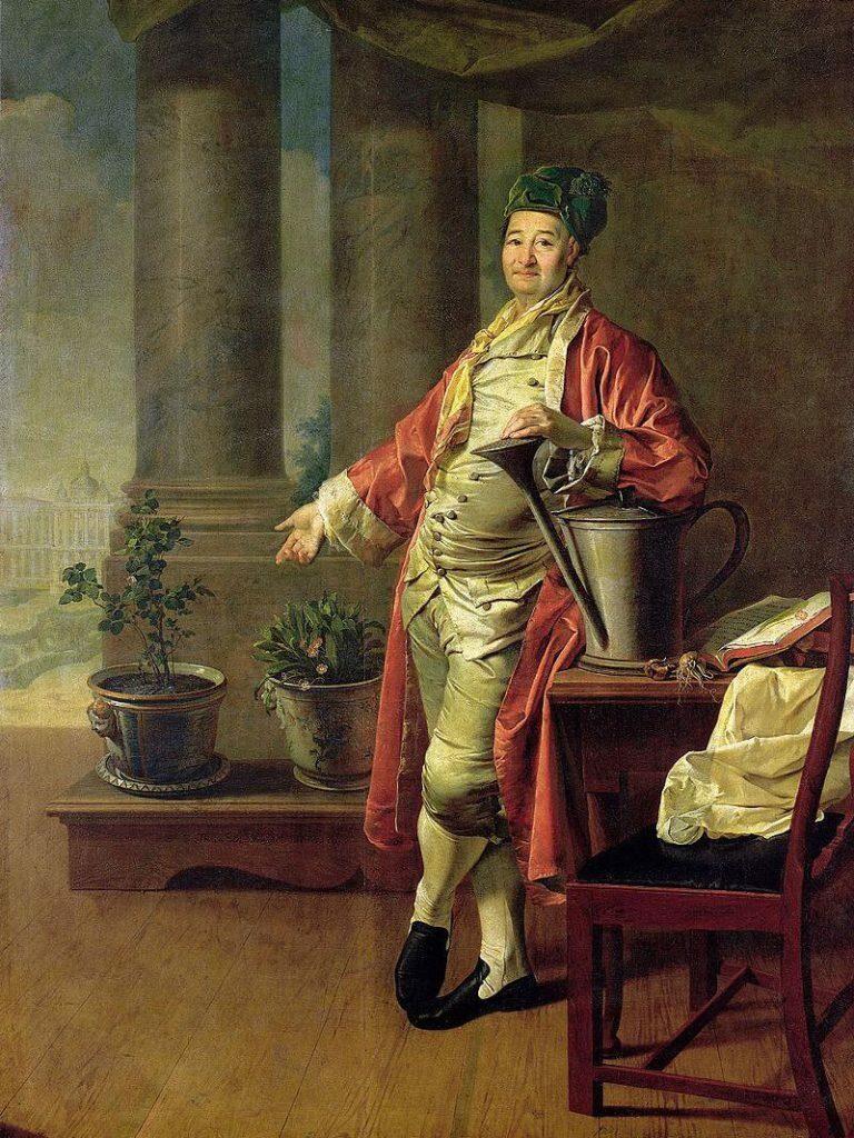 Портрет Прокофия Демидова работы художника Левицкого