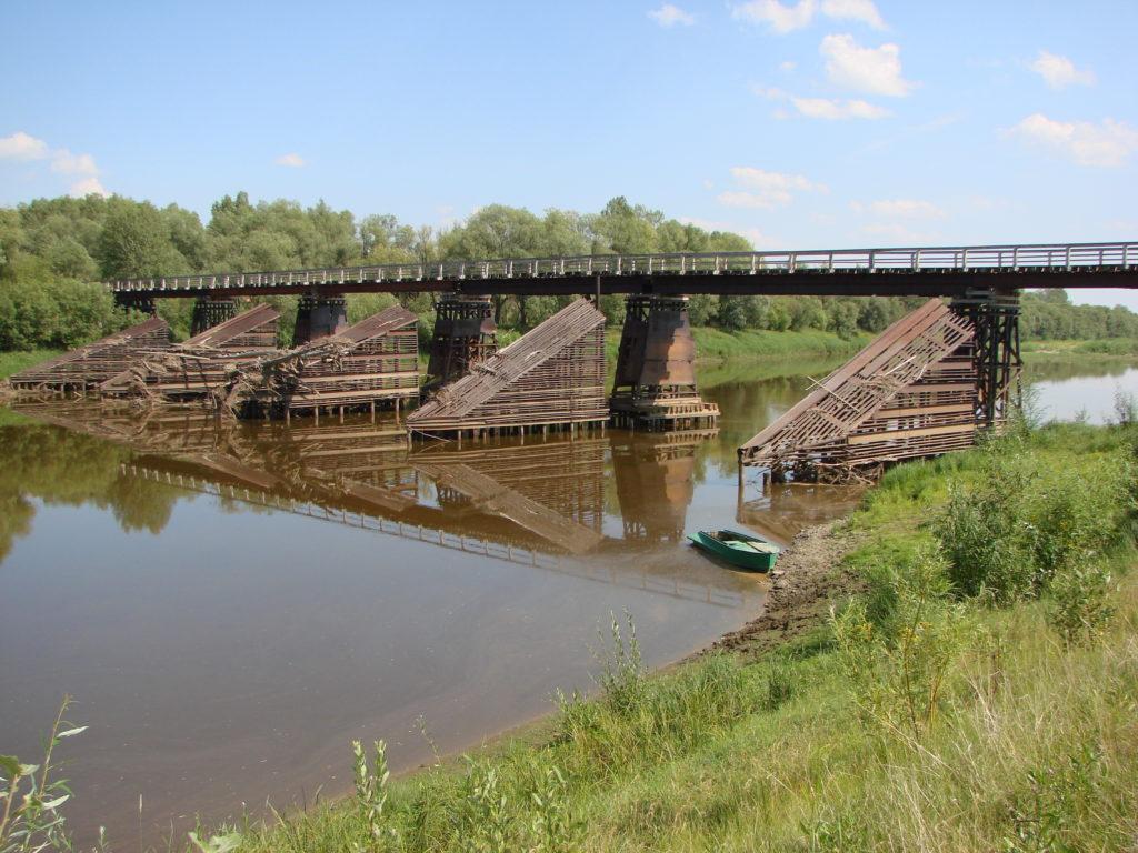 Мост через Туру на АУЖД самый большой в России среди мостов для узкоколеек