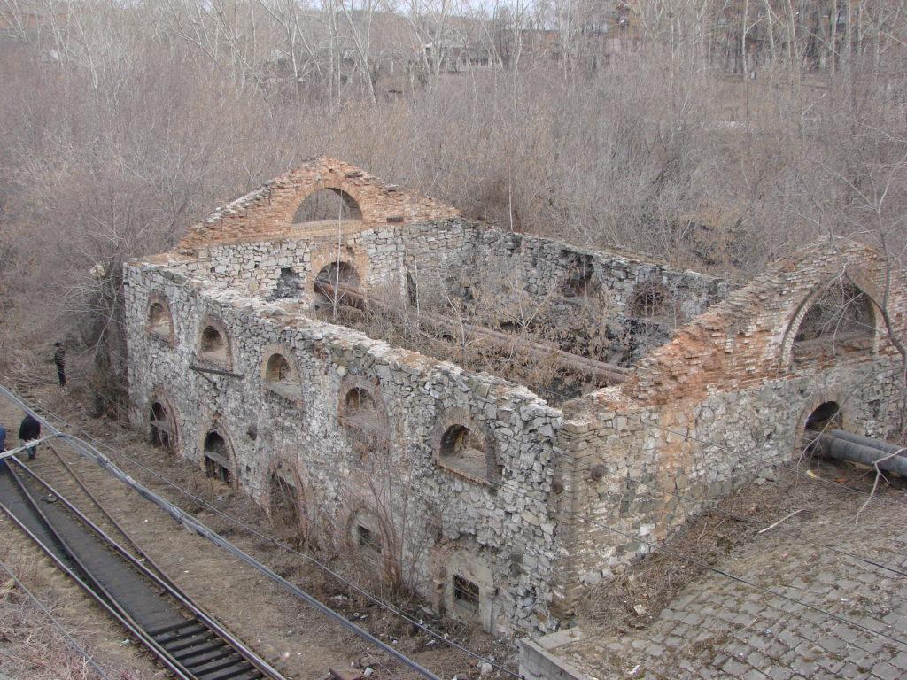 Старейшее заводское строение на Среднем Урале. Кажется, единственный современник Петра I