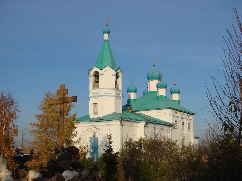 Женский монастырь Похвалы Божией Матери: храм Николая Чудотворца