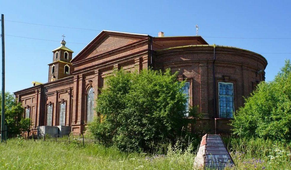 Храм во имя святителя Николая Чудотворца в Ёлкино. Автор фото Михеева Анна