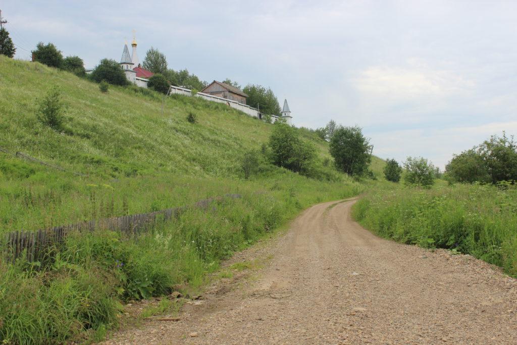 Верхне-Чусовская Казанская Трифонова Пустынь: на подъезде к обители