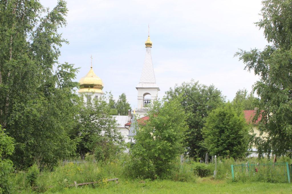 Верхне-Чусовская Казанская Трифонова Пустынь: Всесвятская церковь