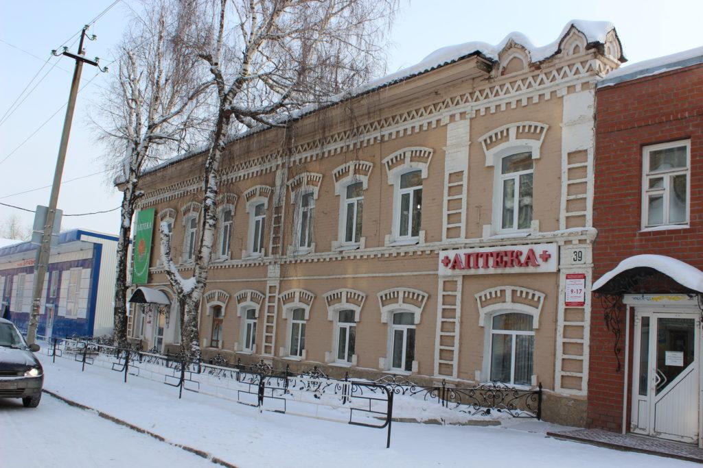Старинная аптека 19 века на улице Братьев Смольниковых