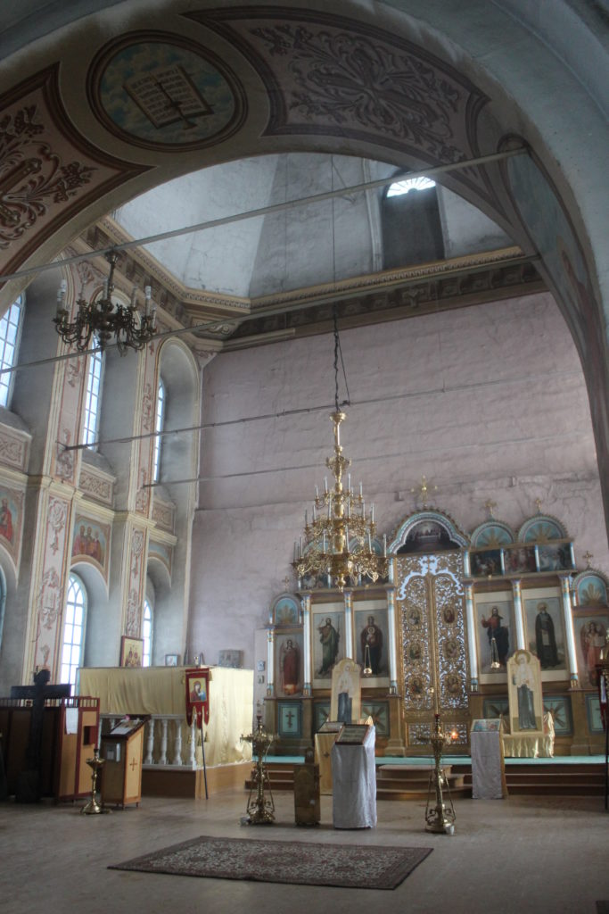 В Свято-Троицком соборе