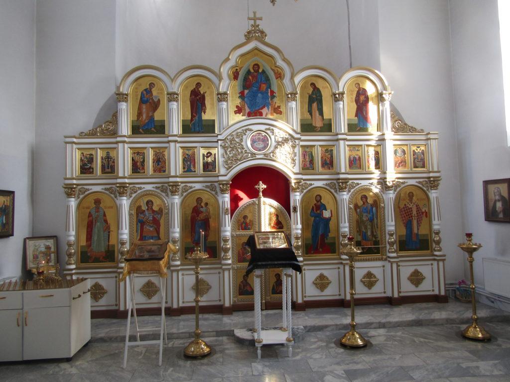 Иконостас Никольского храма