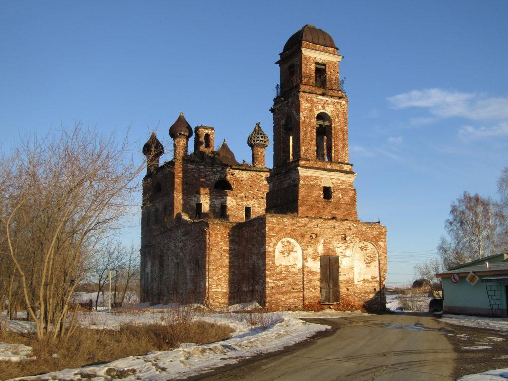 Боголюбский храм в Галкинском