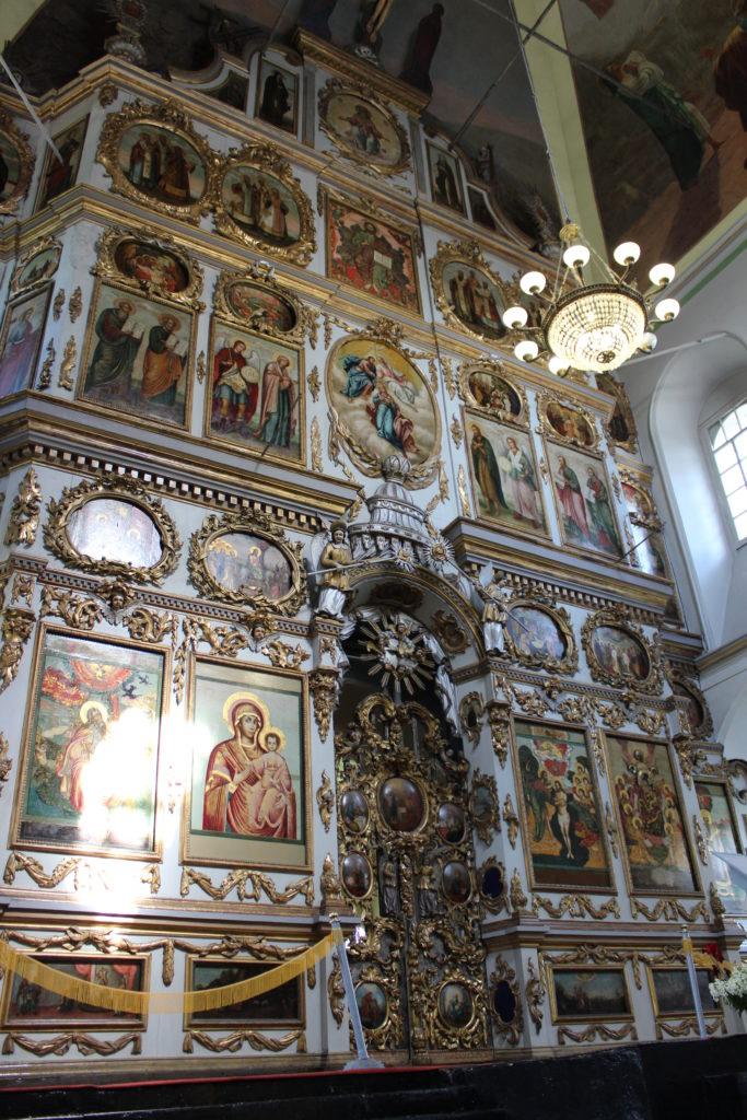 Иконостас Богоявленского храма