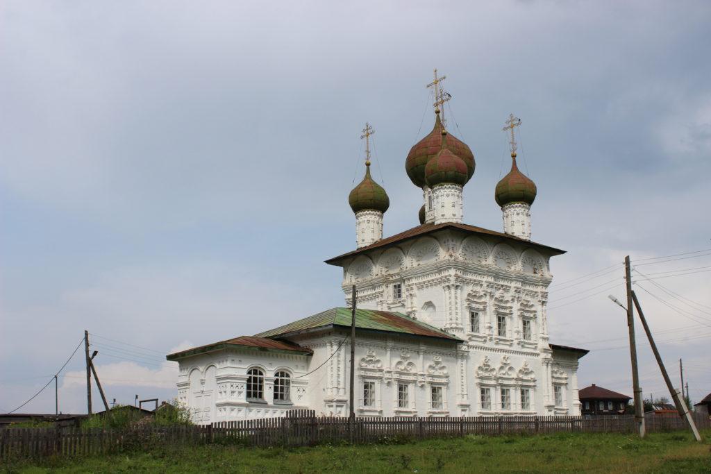 Никольская церковь в Ныробе