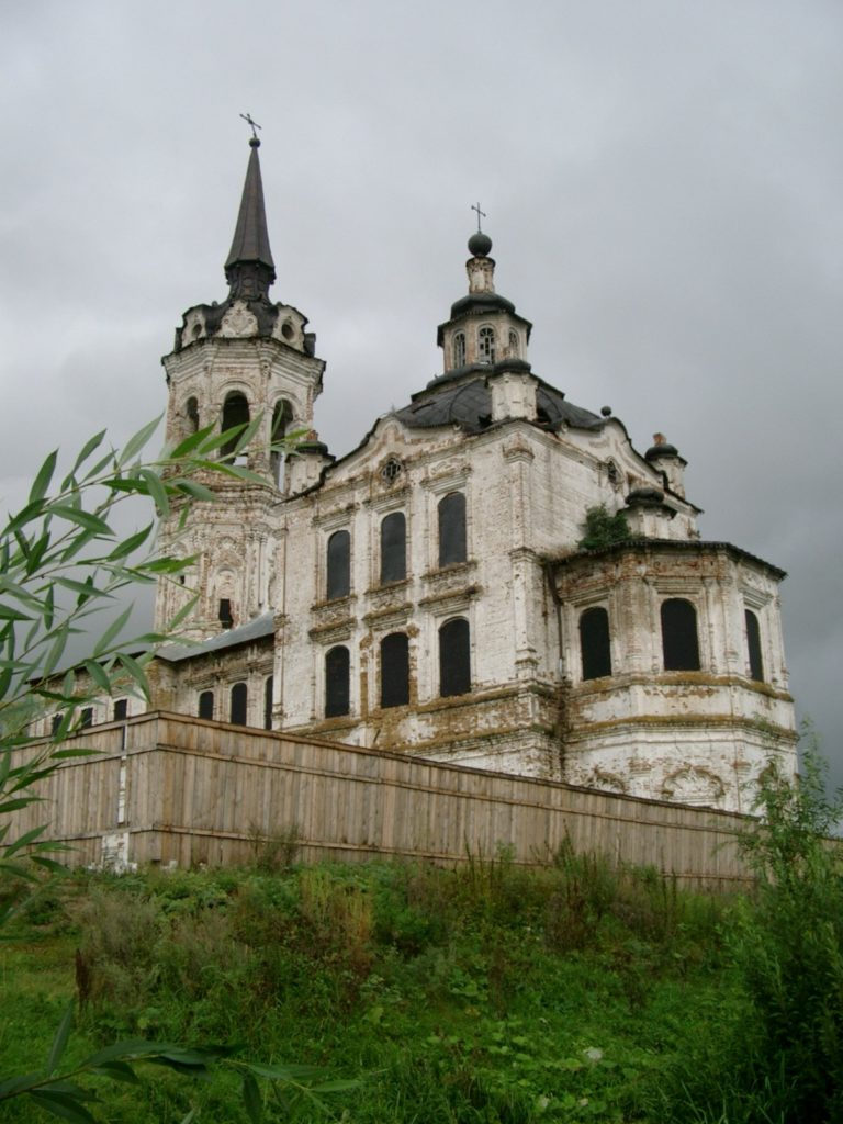 Крестовоздвиженский храм в начале XXI века