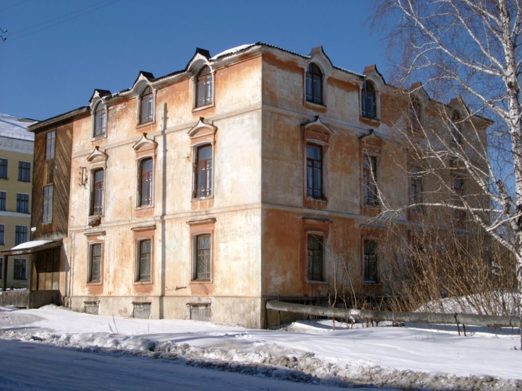 Дом И. Е. Сафонова до реконструкции