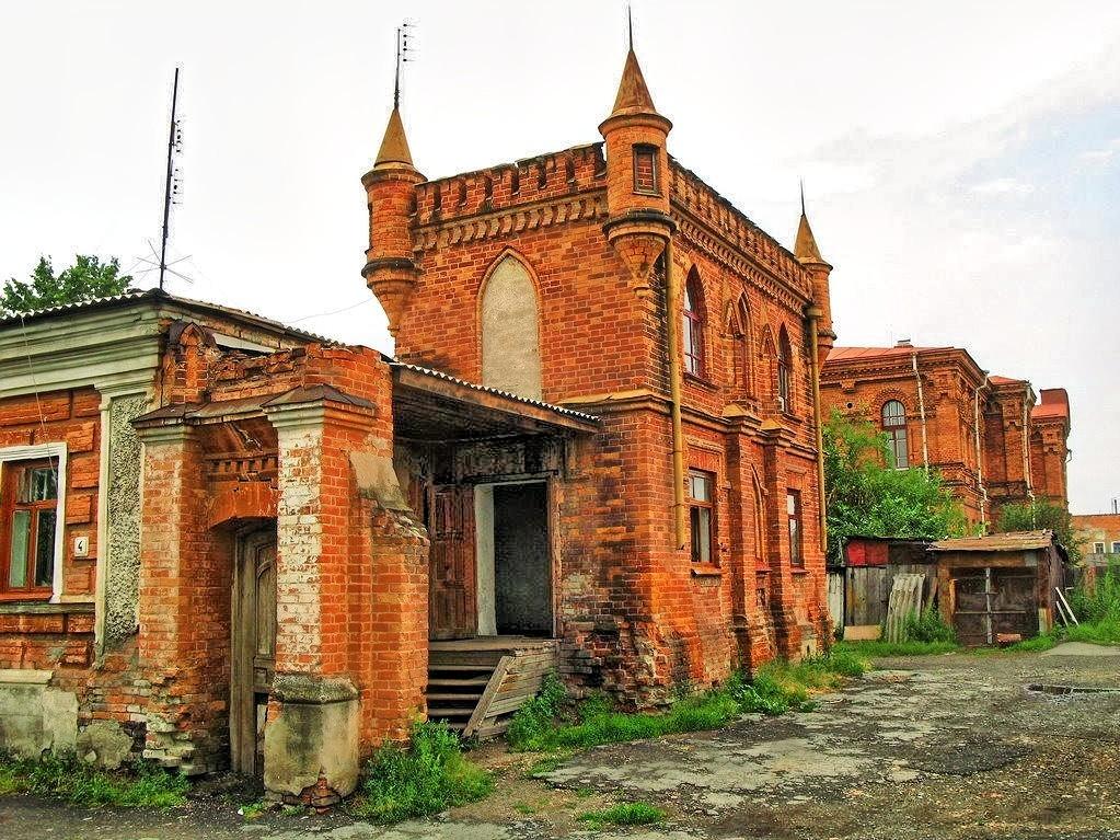 Часть усадьбы купца Колмакова в Ирбите
