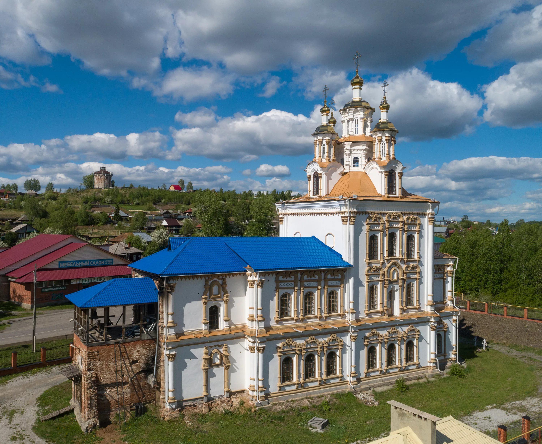 храм во имя святого апостола и евангелиста Иоанна Богослова в Карпинске